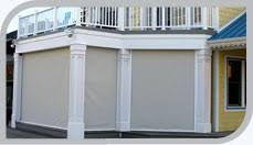 Retractable Awning With Bug Screen Exteriror Solar Shading Screens Eclipse Shading Systems