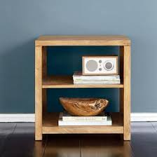 small table with shelves tribeca side table with open shelves the company store