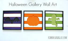 halloween gallery wall art