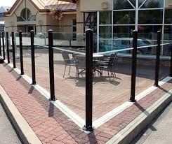 Glass Patio Fencing Patio Windscreens Outdoor Patio Screens Patio Post Glass Fencing