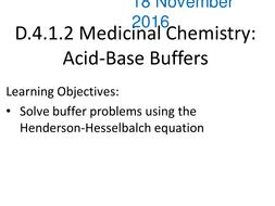 buffer calculations henderson hasselbalch calculations by gerwynb
