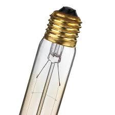 edison light bulb l edison light bulb retro glass filament 185mm transparent design