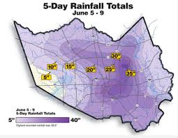 rainfall totals map hurricane hal s surge harvey s compound surge