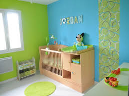 d co chambre b b turquoise photos d coration de chambre b enfant gar on enfantin bleu bebe vert