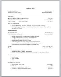 great resume template college student resume template no experience template