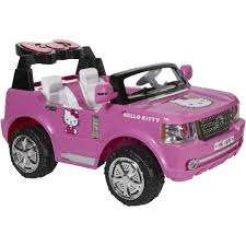 Hello Kitty Bedroom Set In A Box Hello Kitty Suv 12 Volt Battery Powered Ride On Walmart Com