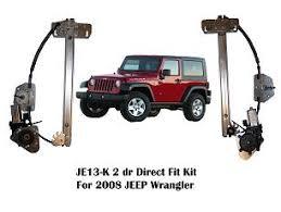 wrangler 2 door or 4 door fronts power window kit with switches