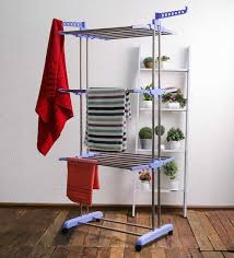 Cloth Dryer Buy Swk Sanitaryware Stainless Steel Blue Clothes Dryer Online
