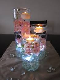 Wedding Centerpieces Floating Candles And Flowers by Submerged Flower Centerpiece Blush And Ivory Wedding Roses