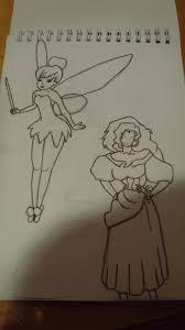 some drawings in ink from my sketch pad drawing misskaricarter