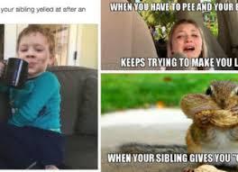 Funny Sibling Memes - funny sibling memes slap laughter