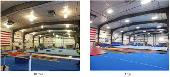 14 000 sq ft gymnastics facility ic energy solutions
