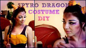 easy diy halloween costume spyro the dragon youtube