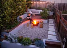 Backyard Firepits This Small Backyard In San Francisco Was Designed For Entertaining
