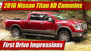 nissan titan quick lift 2016 nissan titan xd first drive impressions youtube