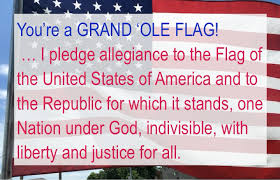 I Pledge Of Allegiance To The Flag Happy Birthday Flag Day Rotary Club Of Duncanville