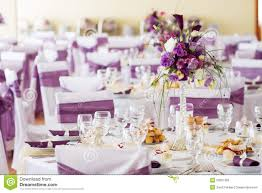 wedding table decoration wedding table decoration with flowers royalty free stock images
