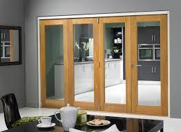 glass folding doors interior image on exotic home interior