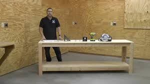 8 Foot Sofa Table Diy 8 U0027 Workbench For Sheath Holster Making Part 1 Building