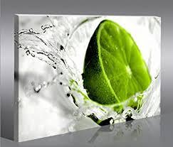 tableau pour cuisine lime limon citron vert 1p tableau sur toile poster tableaux images