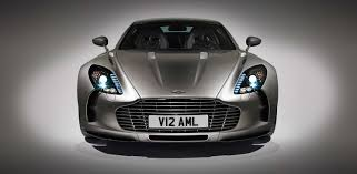 aston martin blacked out aston martin past models one 77
