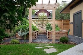 garden kitchen ideas bark garden ideas landscape traditional with kitchen garden