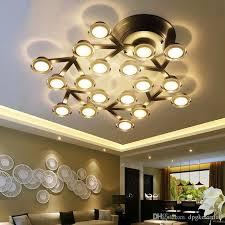 lustre pour bureau acheter moderne led plafonniers contemporain lustre led plafonnier