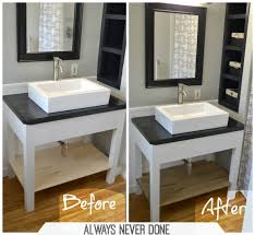 Build Bathroom Vanity Stunning Diy Bathroom Vanity Images Liltigertoo