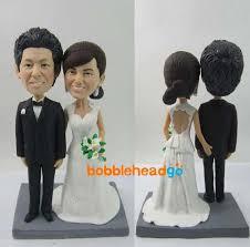 wedding cake topper bobble head wedding topper bg dw002