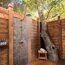 Outdoor Bathroom Ideas Outdoor Shower Gallery Dwellinggawker