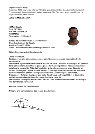 bureau de recrutement gendarmerie candidature refusée service 1 candidature tony patrac
