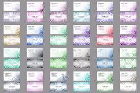 50x2 mosaic design business card templa design bundles