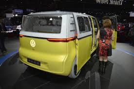 volkswagen buzz price volkswagen i d buzz electric van live images videos from debut