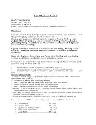 Resume Mining Kpr Resume Tunnel Engineer