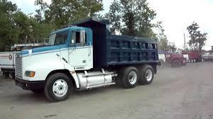 freightliner dump truck 1995 freightliner dump truck cummins l10 youtube