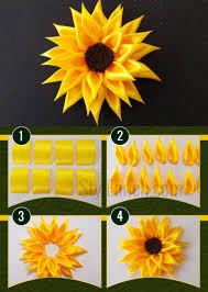sunflower ribbon satin ribbon sunflower stylenrich