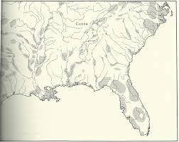 Hernando De Soto Route Map by De Soto U0027s Entrada