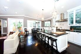 kitchen and living room ideas kitchen open concept kitchen living room and designs design with