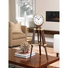 Pewter Mantle Clock Personalized Gifts Engravable Clocks