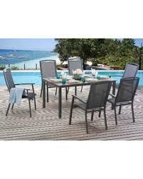 Huge Deal On Sunjoy Sierra Piece Sling Dining Set Black Size - Aluminum sling patio furniture