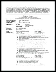 government resume exles federal resumes exles resume sle of government exle