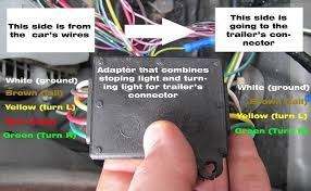 how to wire a trailer on a nissan x trail 2005 auto maintenance