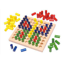peg board graded round peg board at rs 1500 piece occupational therapy