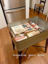 island in the kitchen pictures repurposed wash tub to kitchen island hometalk