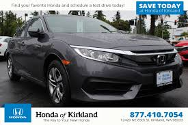 new 2017 honda civic sedan lx 4dr car in kirkland 174185 honda