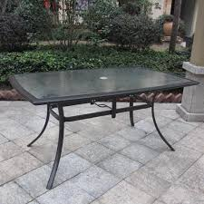 Patio Table Glass Top 9 Best Outdoor Patio Tables Glass Images On Pinterest Outdoor