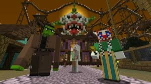 minecraft halloween 2015 mash up pack on ps4 official