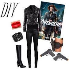 Avengers Halloween Costume Halloween Costume Inspired Scarlett Johansson Black