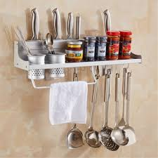 kitchen diy wall mounted wood knife rack smart diy solutions for