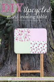 quilting ironing board table free tutorial upcycled mini ironing board table craftsy